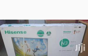 Brand New 65 Inches Hisense Smart LED Tv. With 2 Hdmi, 2 Vga, 2 USB | TV & DVD Equipment for sale in Lagos State, Lekki