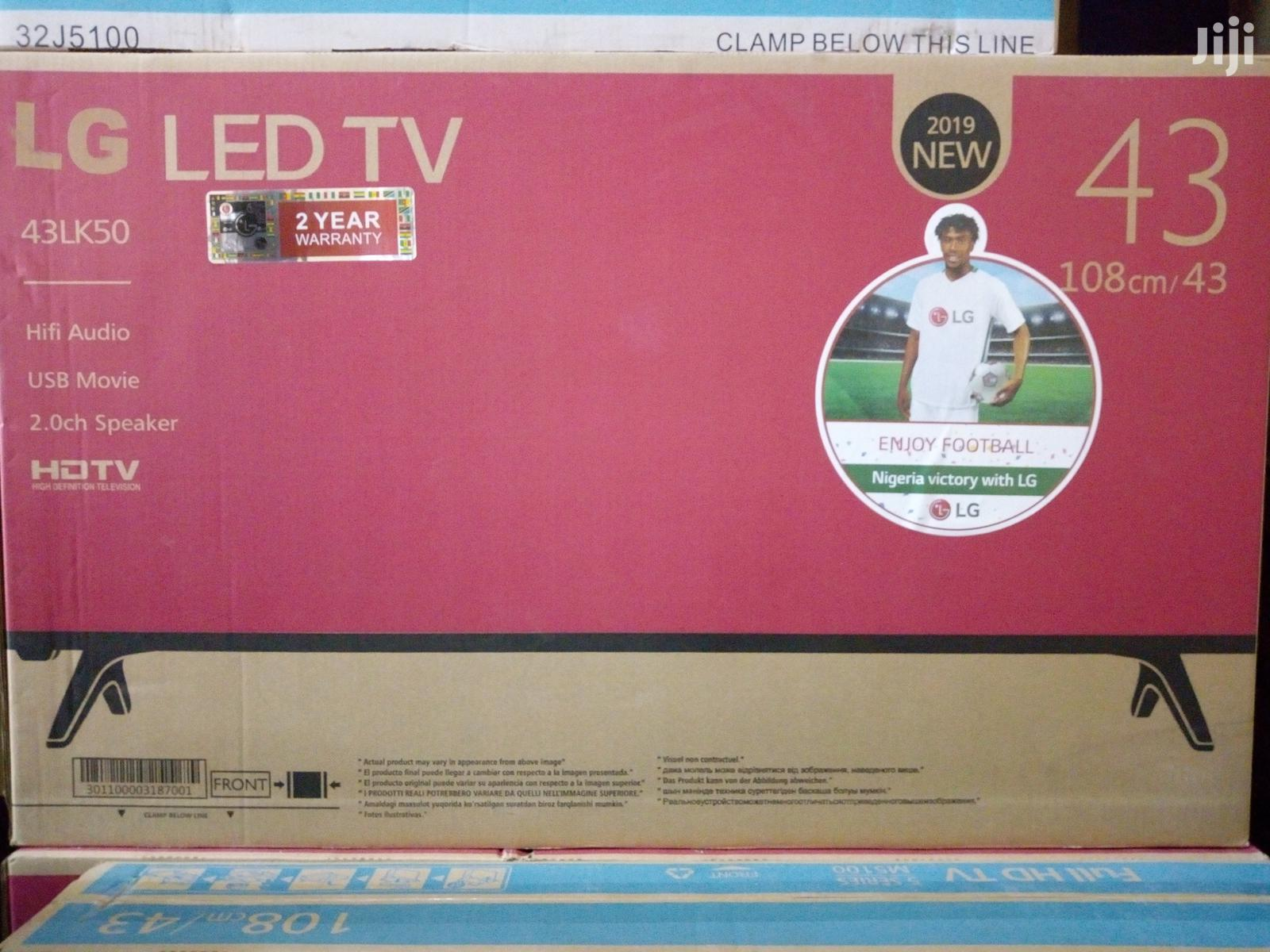 Brand New 43 Inches LG LED TV . | TV & DVD Equipment for sale in Lekki, Lagos State, Nigeria