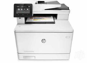 HP Color Laserjet Pro M477fdw Wireless Multifunction Printer | Printers & Scanners for sale in Lagos State, Ikeja