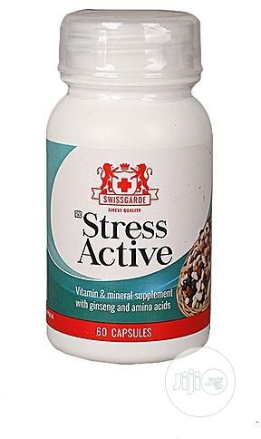 Swissgarde Stress Active (Mental Physical Energy Boost)