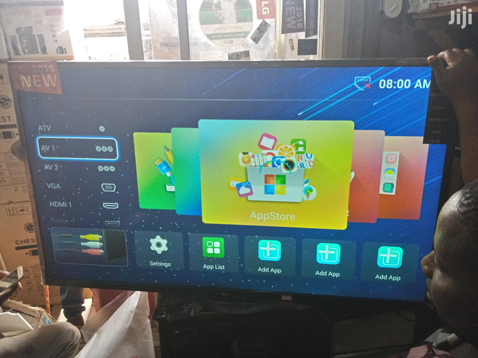 LG Android Smart TV 55 Inches   TV & DVD Equipment for sale in Lekki, Lagos State, Nigeria