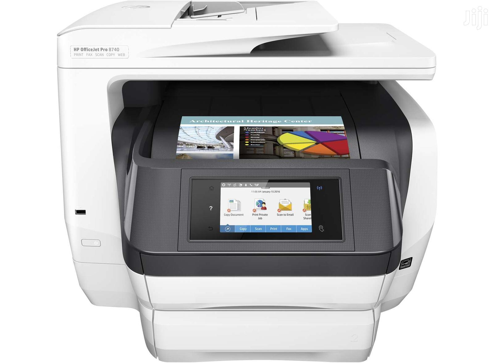Archive: HP Officejet Pro 8720 All-in-one Wireless Printer