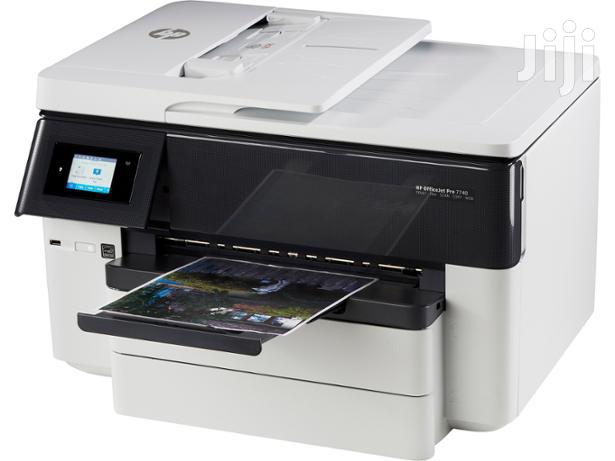 Archive: HP Officejet Pro 7740 Wide Format All-in-one Printer