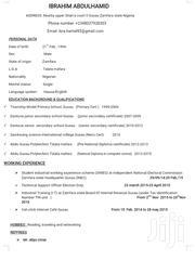 Customer Service Representative   Customer Service CVs for sale in Zamfara State, Talata Mafara