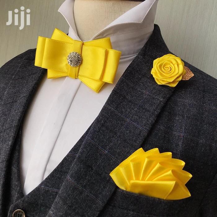 Men Suit Bow Tie for Wedding in Lagos Island (Eko) - Wedding Wear &  Accessories, Mohammed Alade   Jiji.ng