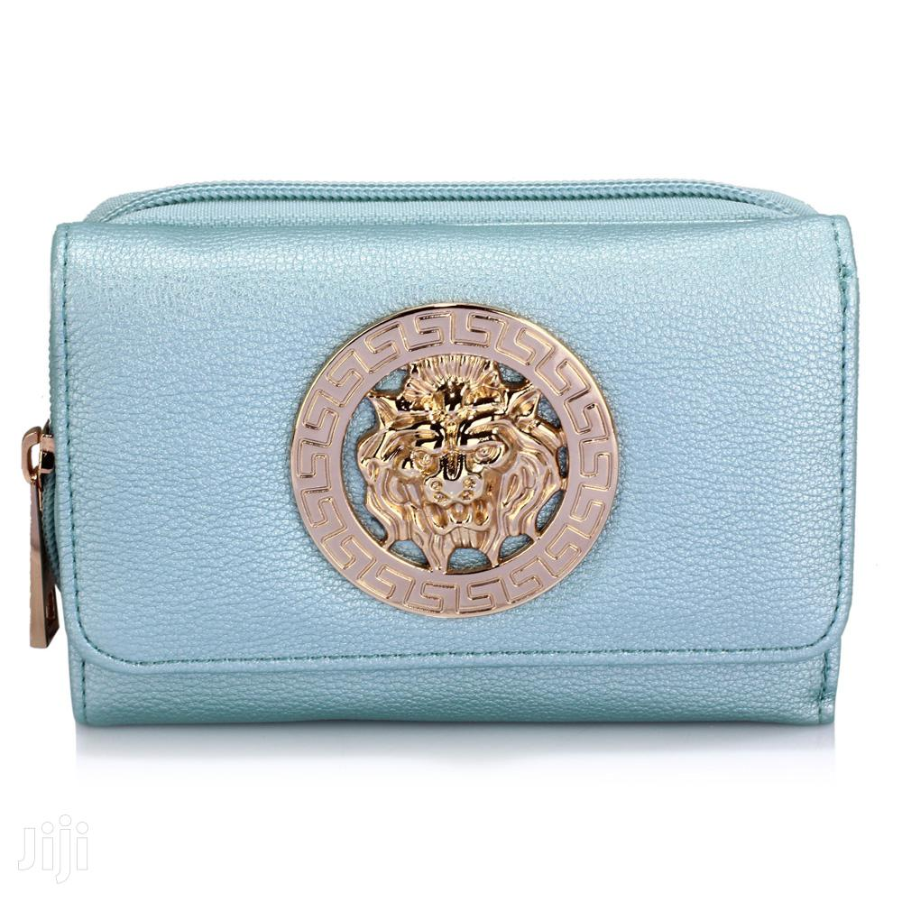 Archive: Blue Purse/Wallet With Metal Decoration-0026