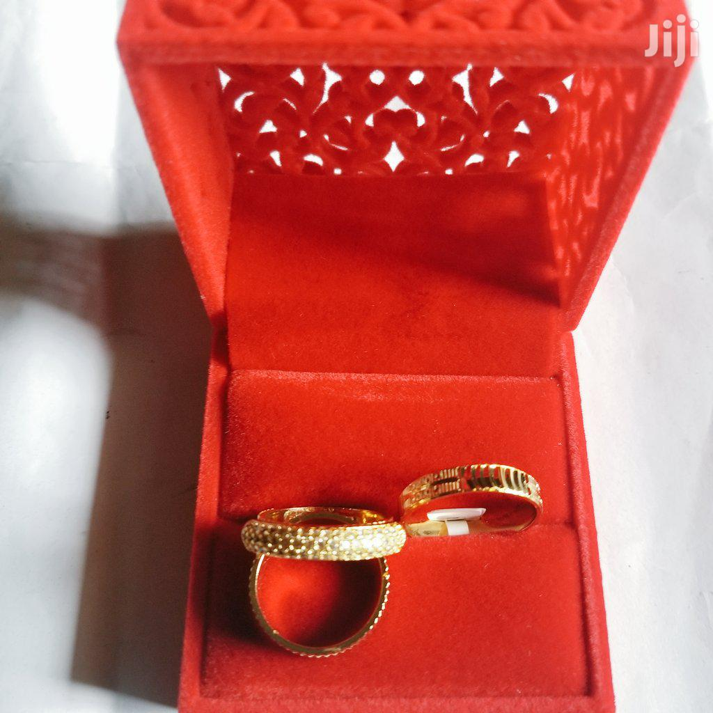 Gold Engagement Wedding Ring - Band Set | Wedding Wear & Accessories for sale in Port-Harcourt, Rivers State, Nigeria