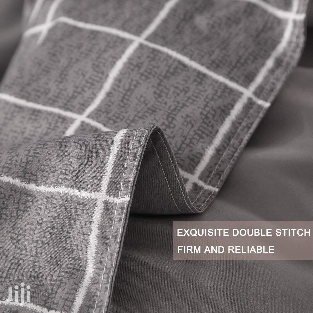 Full Grey Plaid Duvet/Beddings | Home Accessories for sale in Surulere, Lagos State, Nigeria