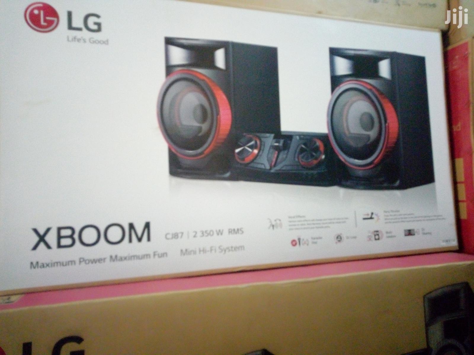 LG Cj87 Home Theater