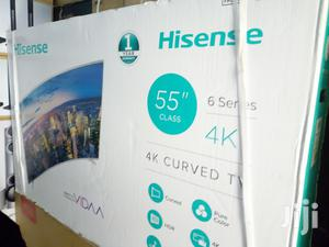 Hisense Curved Smart LED TV 55 Inch   TV & DVD Equipment for sale in Lagos State, Lekki