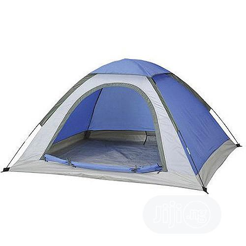 New & Portable Camp Tent With Window Insect Repellent Mesh.