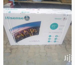 Original 49 Inces Hisense LED Andriod Smart Curve TV   TV & DVD Equipment for sale in Lagos State, Lekki