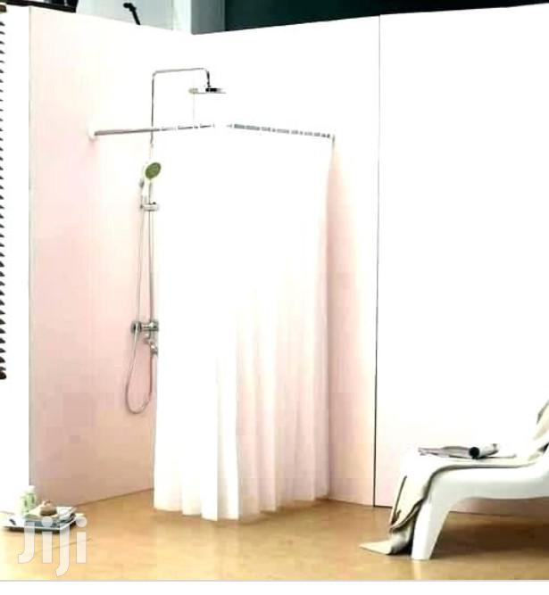 Shower Curtain Rod Kit