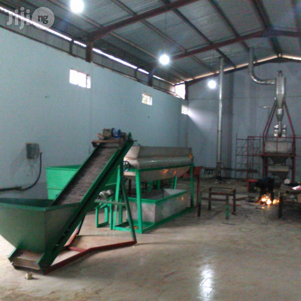 Cassava Flour Processing Plant