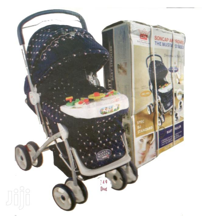 Extra Large And Strong Baby Stroller