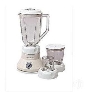 Master Chef Electric Blender With Two Mills   Kitchen Appliances for sale in Lagos State, Mushin