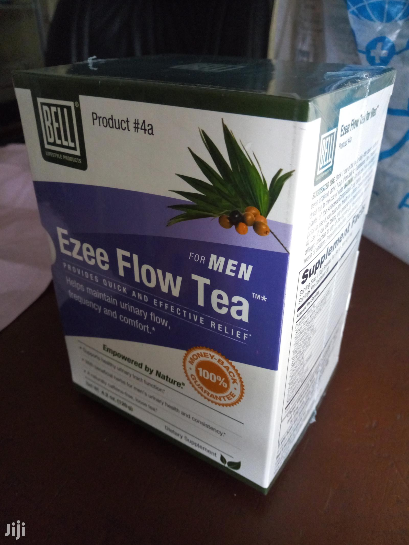Ezea Flow Tea. Stop Frequent Urination and Prostate Enlargement