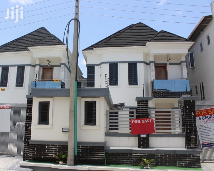 5 Bedroom Fully Detached Duplex At Osapa London Lekki Lagos For Sale