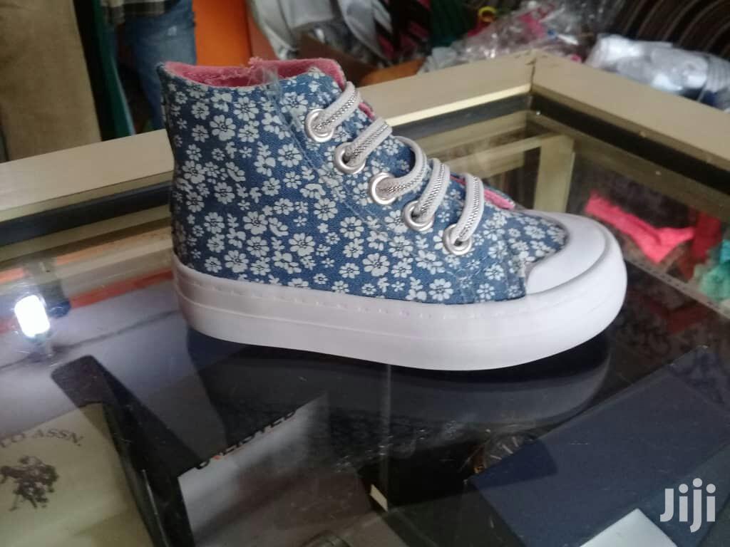 Piper Girl High Top Sneakers