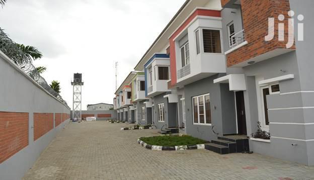 Brand New 4 Bedroom Terraced Duplex at Ajah