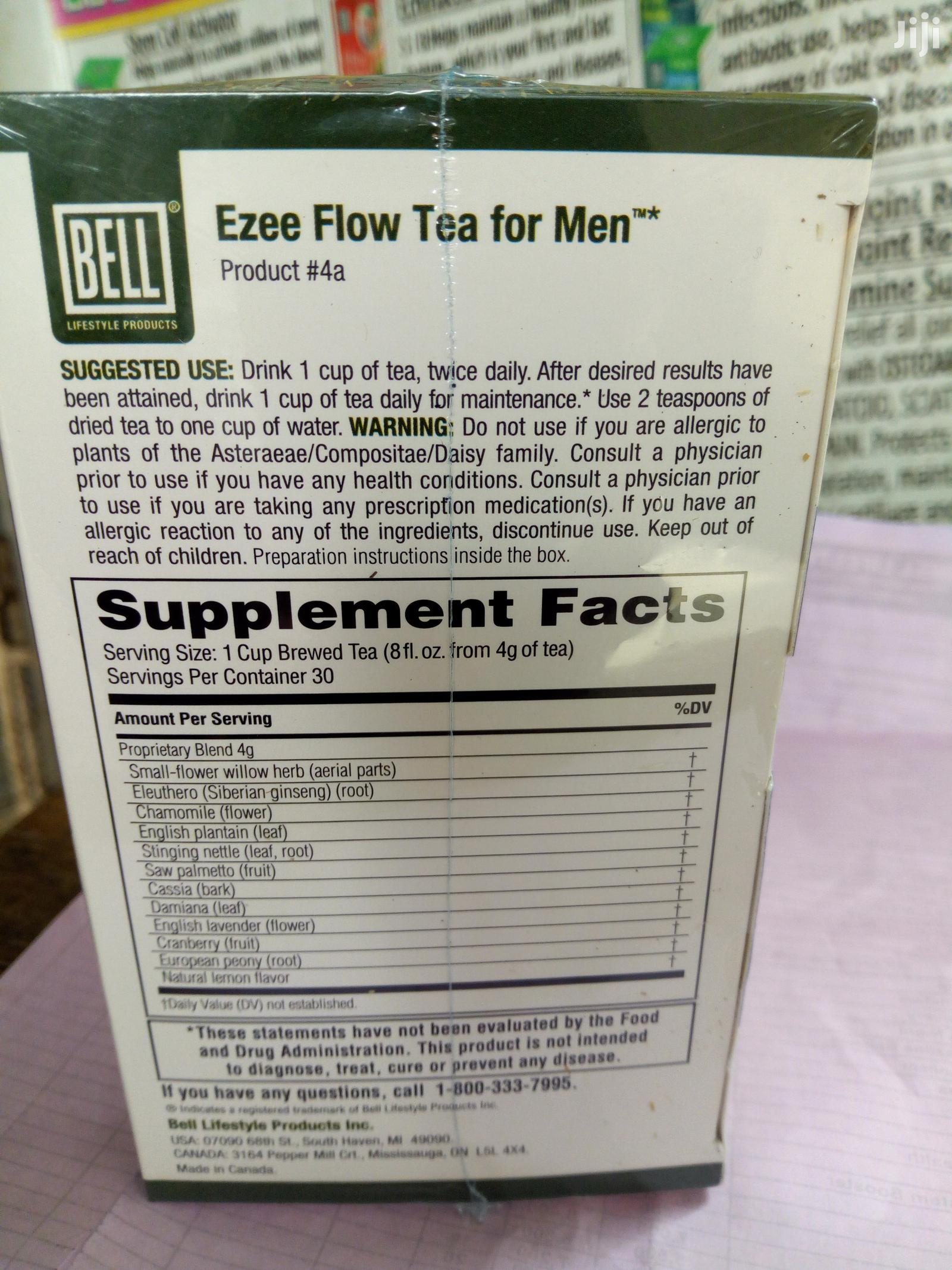 Ezea Flow Treats Frequent Urination, Stop Prostate Enlargement | Vitamins & Supplements for sale in Ibadan, Oyo State, Nigeria