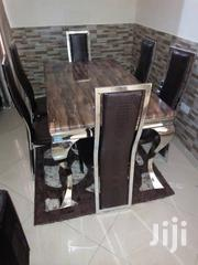 High Quality Marble Dining Table and 6 Chairs | Furniture for sale in Lagos State, Ojo