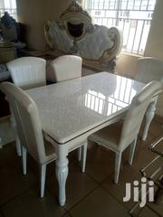 High Quality Marble and Wooden Dining Table With 6sitter | Furniture for sale in Lagos State, Ojo