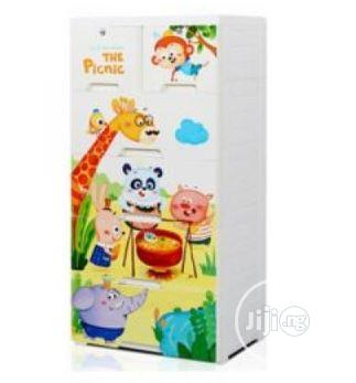 Archive: Jungle Picnic 5 Layer Kids Room Storage Drawer Cabinet White