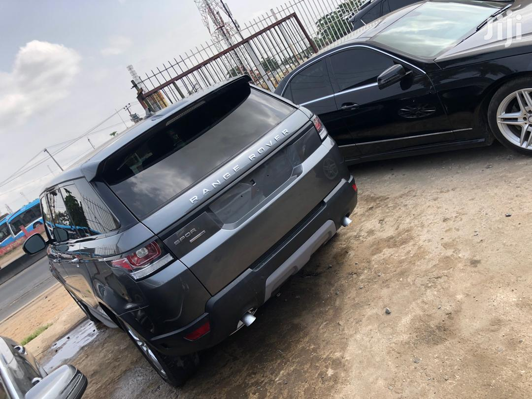 Land Rover Range Rover Sport 2016 SE Td6 4x4 (3.0L 6cyl 8A) Gray | Cars for sale in Ojodu, Lagos State, Nigeria