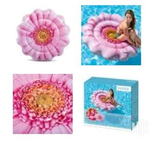 Intex Flower Shaped Inflatable Swimming Mattress   Sports Equipment for sale in Rivers State, Port-Harcourt