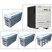 Sukam Inverter 3.5kva With Four Amaron Quanta Battery 12v200ah   Electrical Equipment for sale in Lagos State, Ikeja