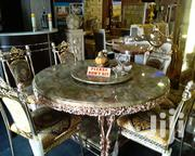 Quality Marble Dining Table by Six Seater | Furniture for sale in Kano State, Tudun Wada