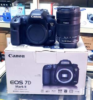 Canon DSLR Camera EOS 7D Mark II With 18-135mm Lens   Photo & Video Cameras for sale in Lagos State, Ikeja