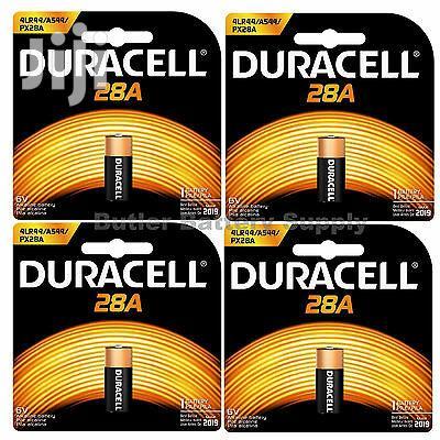 USA 28A Duracell 6V Batteries (1414A, 4lr44, A544, Px28a - 1 Pack