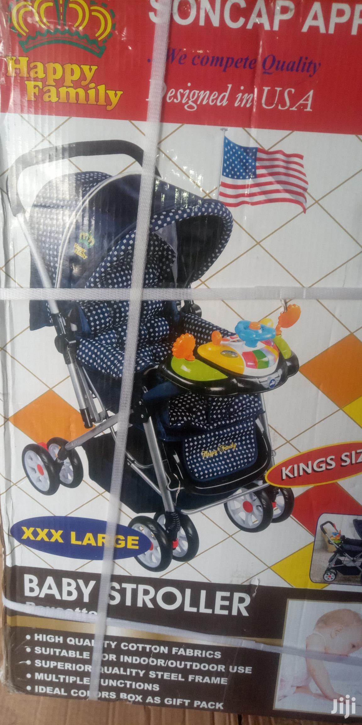 Archive: Happy Family 3 -in -1 Baby Stroller (Xxl Size) - Kingsize