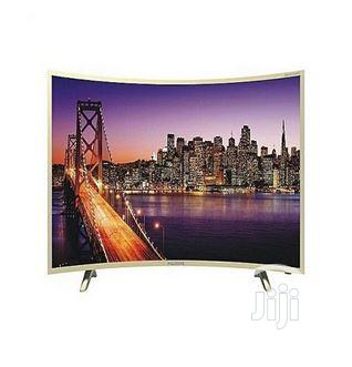 "Polystar Smart Curved LED Uhd TV (Pv-e50sdu2100) 50"""