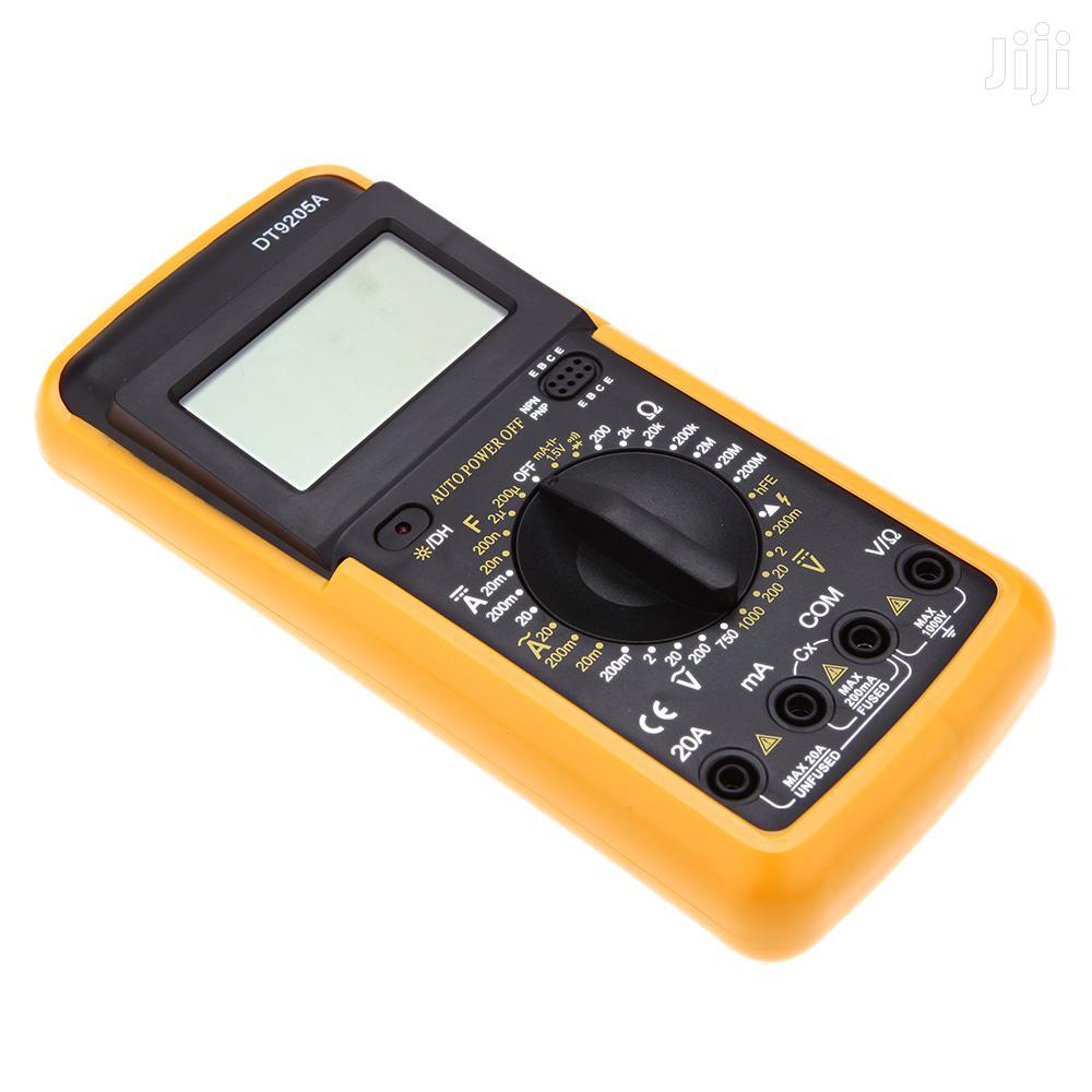 DT9205A Digital Multimeter, Voltmeter, Multimeter Kit