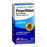 BAUSCH LOMB Ocuvite Preservision 120 Tablets | Vitamins & Supplements for sale in Lagos State