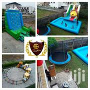 Slide And Pool, Trampoline, Mountain Climb, Train Ride For Rent | Party, Catering & Event Services for sale in Lagos State, Shomolu