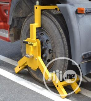 Anti-theft Heavy Duty Safety Vehicle Truck Tyre Wheel Clamp Lock