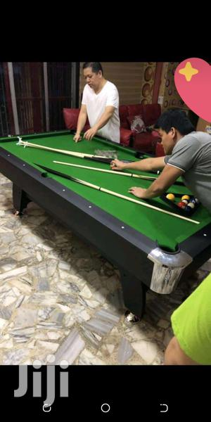 Foreign 8fit Snooker Board With Complete Accessories | Sports Equipment for sale in Lagos State, Ikoyi