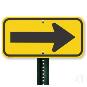 Aluminum Road Safety Traffic Arrow Sign With High Reflective Films   Safetywear & Equipment for sale in Lagos State, Yaba