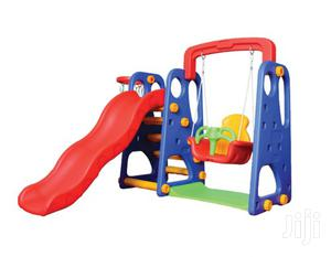 3 In 1 Children Slide With Swing And Basketball | Toys for sale in Rivers State, Port-Harcourt