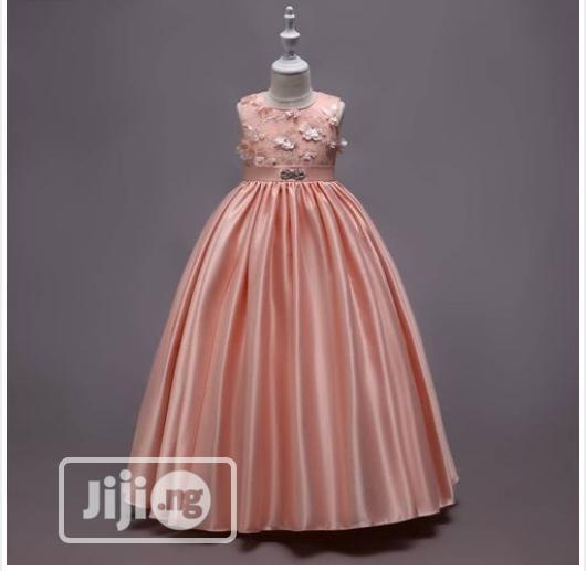 Archive: Peach Ball Gown