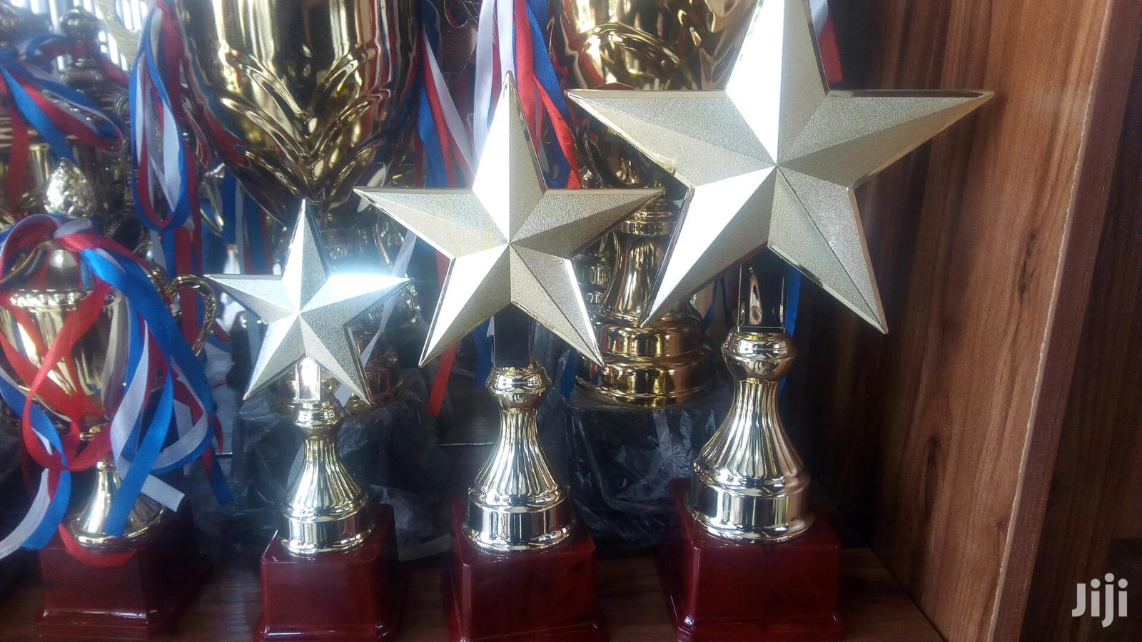 Set Of Awards Trophy