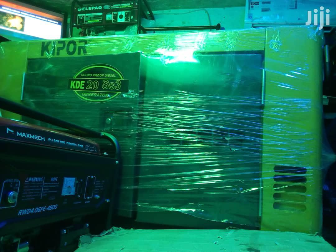 Kipor Sound Proof Diesel Generator | Electrical Equipment for sale in Ojo, Lagos State, Nigeria