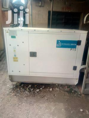 Jubaili Bro 15KVA Sound Proof Generator With 2yrs Warranty. | Electrical Equipment for sale in Lagos State, Ojo