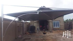 Standard Carport Covering Two Cars With Two Sides Culve Wind Breaker | Building Materials for sale in Lagos State, Alimosho