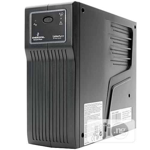 Archive: Liebert Power Supply UPS Uninterruptible Power Supply Backup 650va