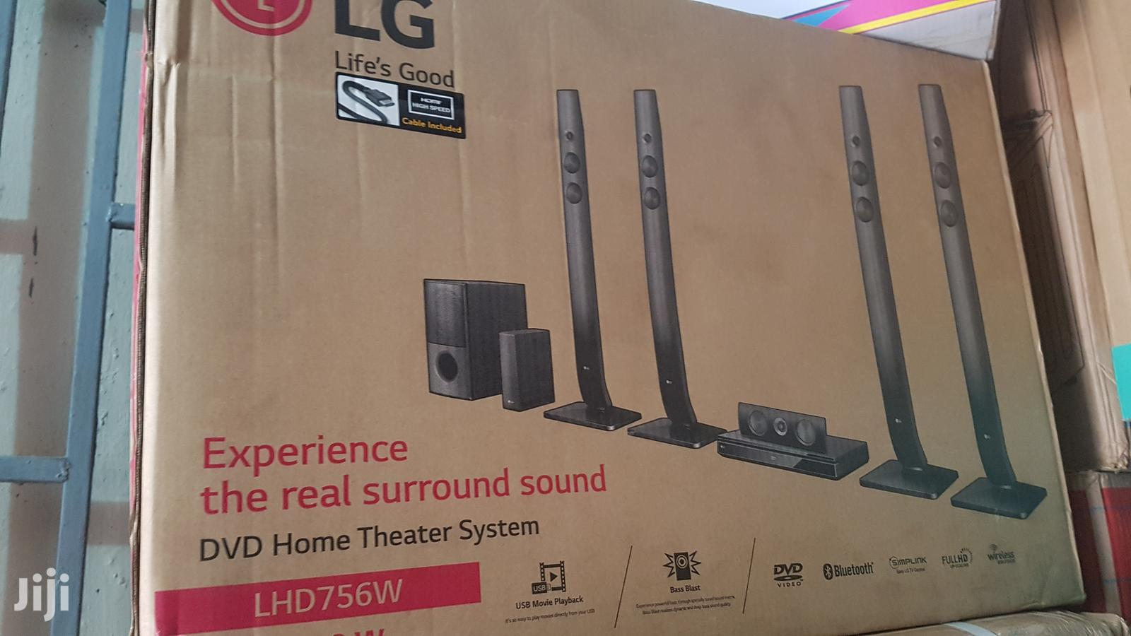 LG Home Theater System Wireless | Audio & Music Equipment for sale in Lagos State, Nigeria